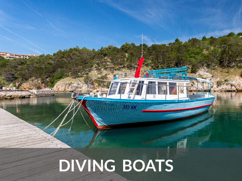 Diving Boats | DIVE LOFT KRK | Croatia