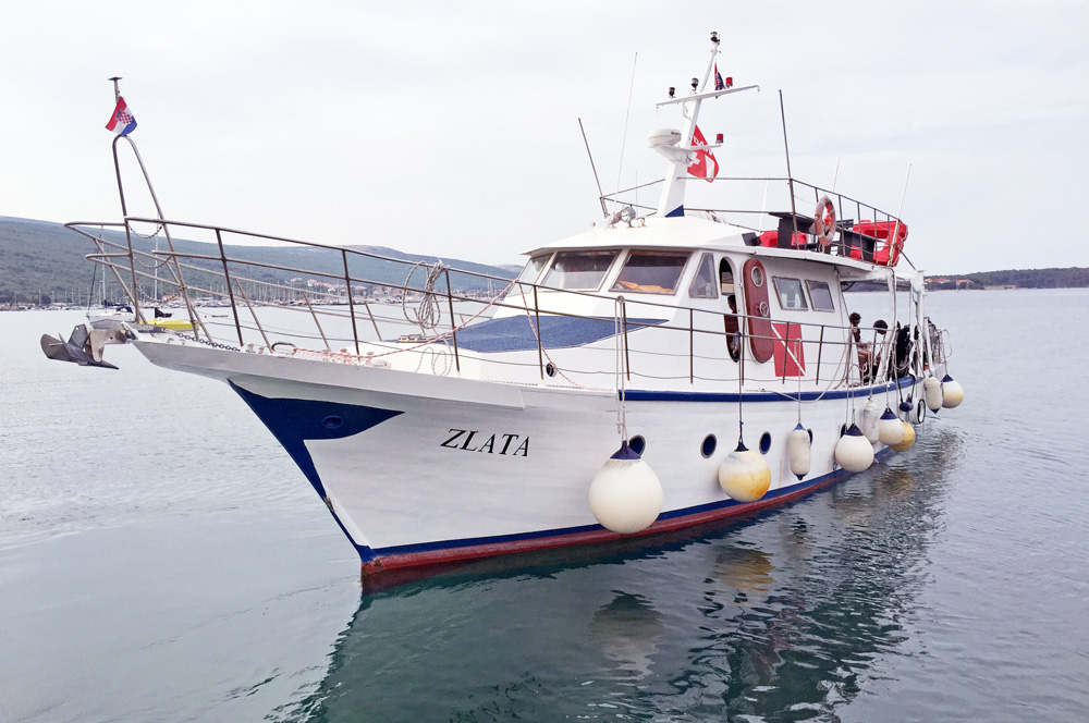 ZLATA | Full day diving trips | DIVE LOFT KRK | Croatia