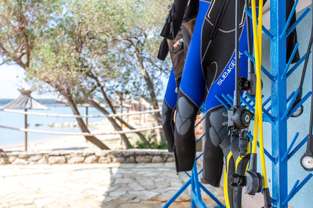 Scuba diving equipment | DIVE LOFT KRK | Croatia