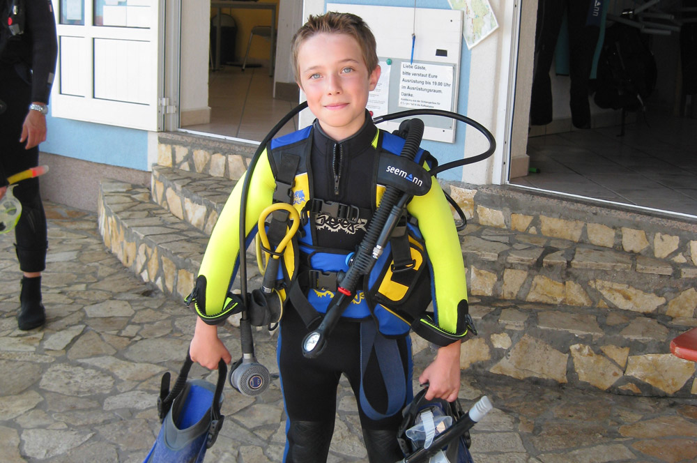 Children diving | DIVE LOFT KRK | Croatia